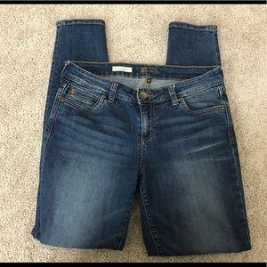 Kut from the Kloth Mia Toothpick Skinny Jeans 8